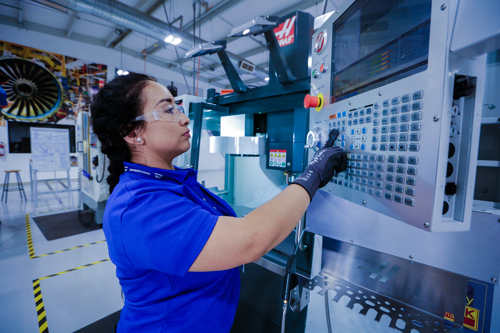 Aerospace Components being manufactured in Mexico