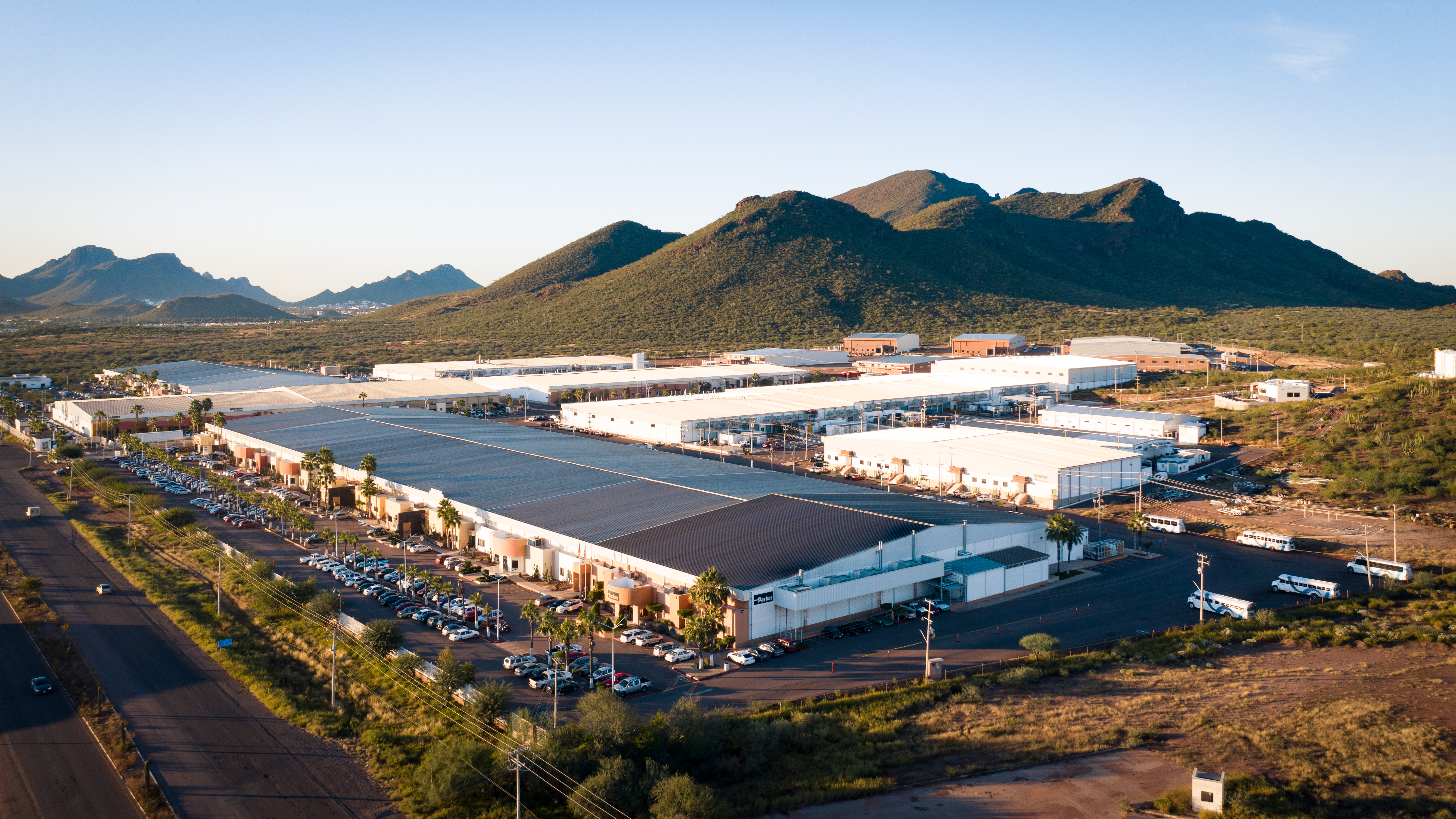 Roca Fuerte Industrial Park in Mexico where aerospace companies go to experience the benefits of manufacturing in Mexico