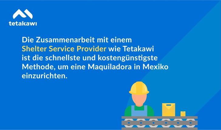 Einrichtung einer Maquiladora in Mexiko-3