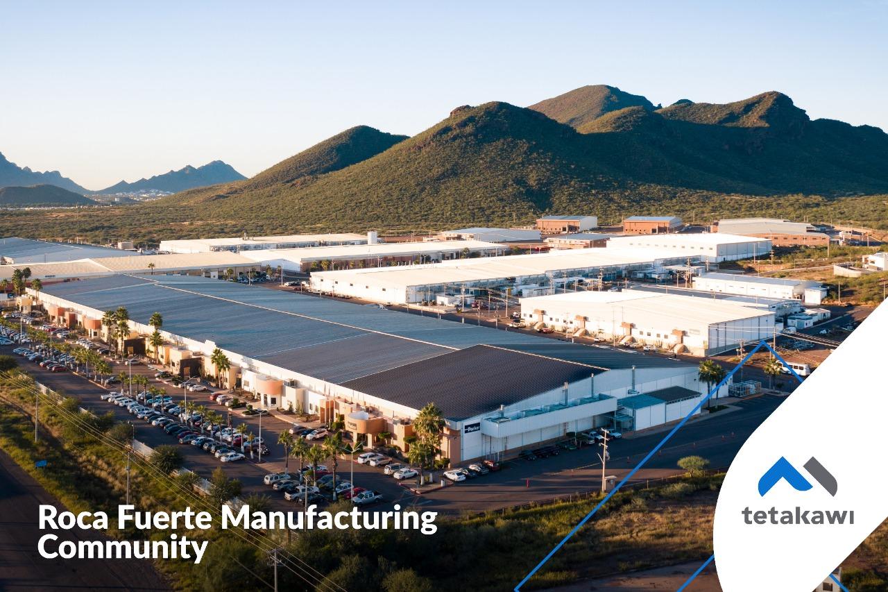 Roca Fuerte Industrial Park - Center of Aerospace Cluster in Guaymas, Sonora