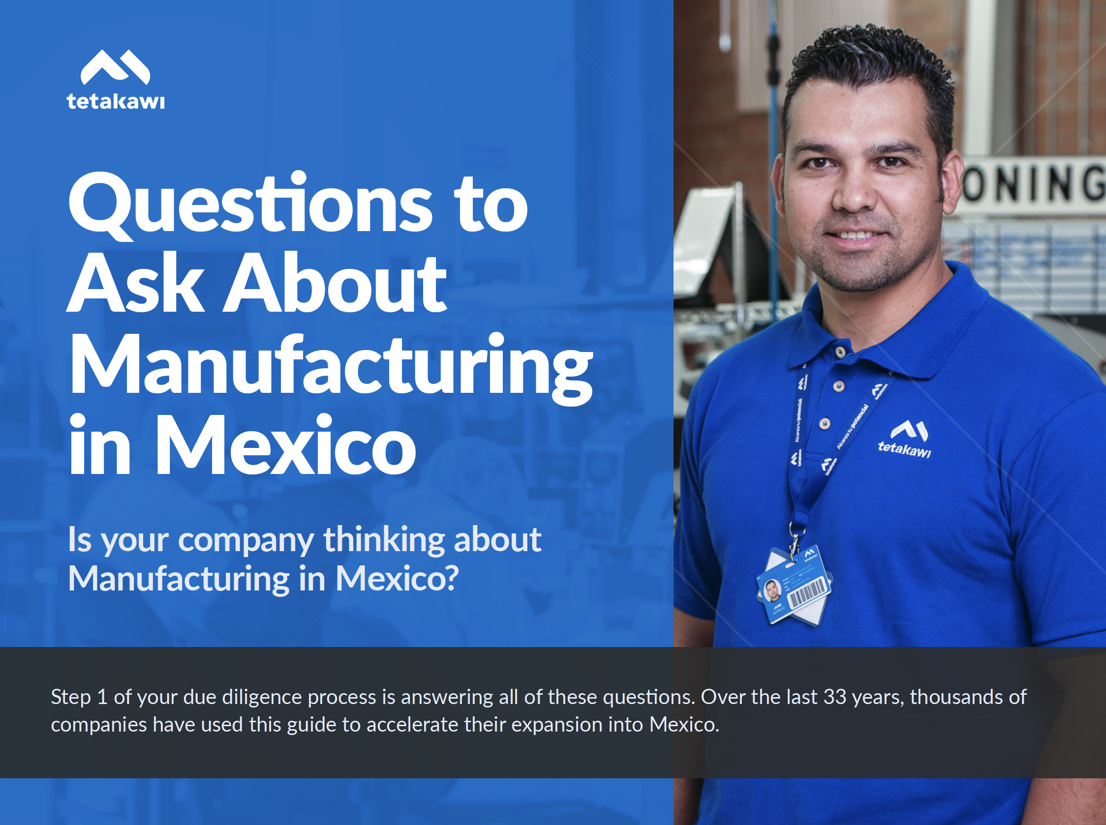 Ebook: Questions to ask about Manufacturing in Mexico