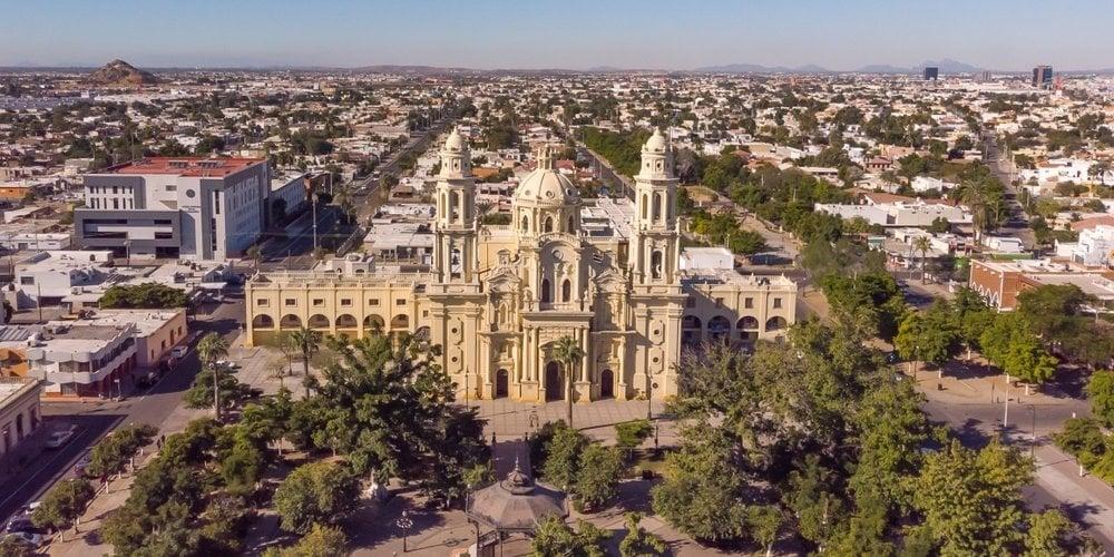Hermosillo, Sonora where many manufacturing companies are located