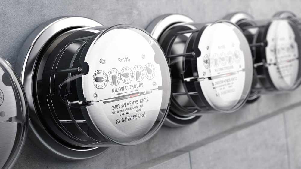 Kilowatt hour electric meters, power supply meters
