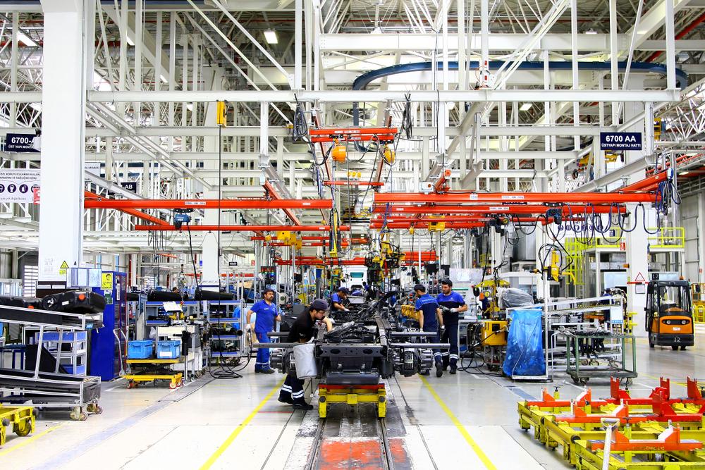 Mercedes-Benz Automotive Assembly Factory