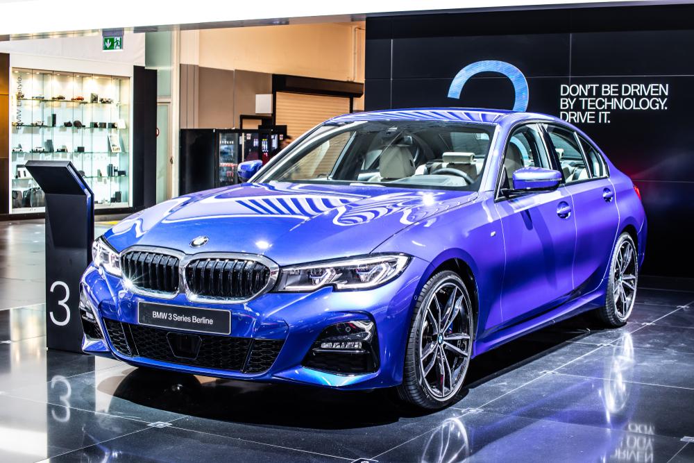BMW 3-Series Sedan assembled in San Luis Potosi, Mexico